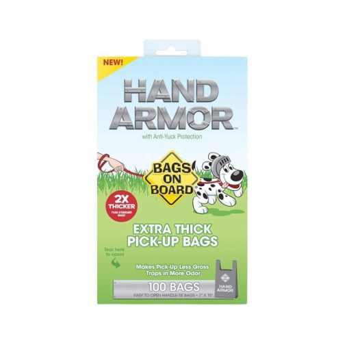 BOB Hand Armor 1 - BOB Hand Armor with Extra Thick Pick Up Bags