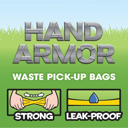 BOB Hand Armor 3 - BOB Hand Armor with Extra Thick Pick Up Bags
