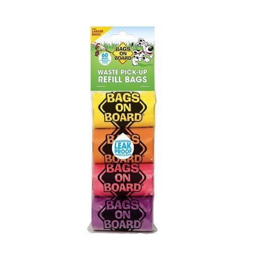 BOB Refill Bags 60 bags 1 - BOB Refill Bags – RainbowRoll 60 bags