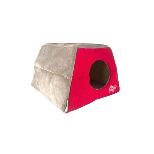 Cats Beds Igloo Podz CIP02 Tango Fishbone Side Pop Up - Rogz Catz Igloo Tango Fishbone