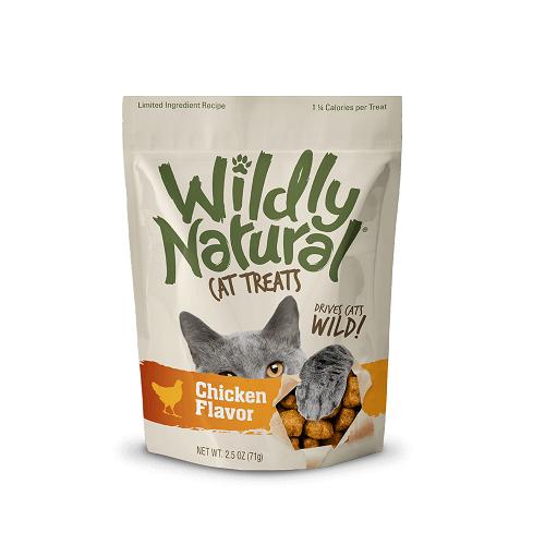 ChickenFlavor front - Fruitables Wildly Natural Cat Treats Chicken Flavor