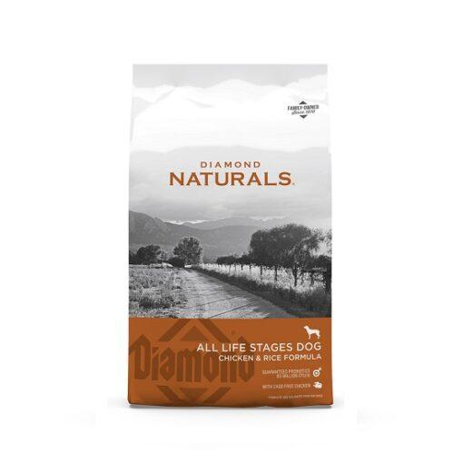 Dog Chicken Rice 1 - Diamond Naturals All Life stages Dog Chicken & Rice Formula