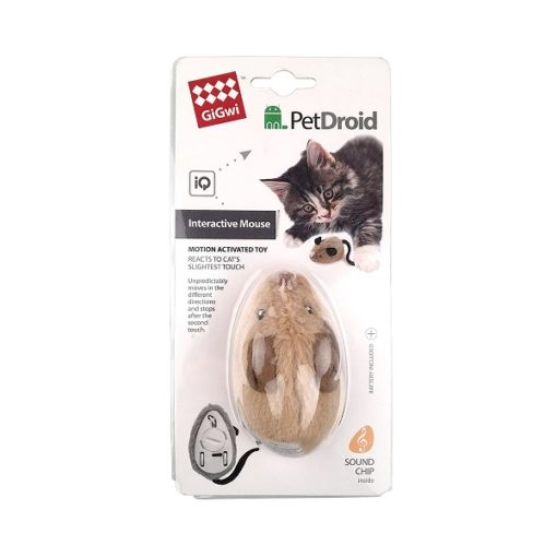 Petdroid Mouse 4 - Gigwi Petdroid Mouse Electric Interactive Cat Toy