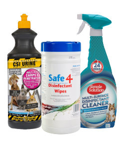 Cleaning and Odour control