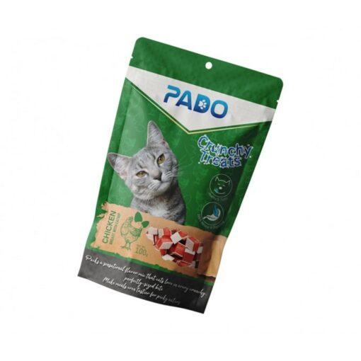 pado crunchy cat treats chicken with catnip 100g - Pado Crunchy Cat Treats Chicken With Catnip 100g
