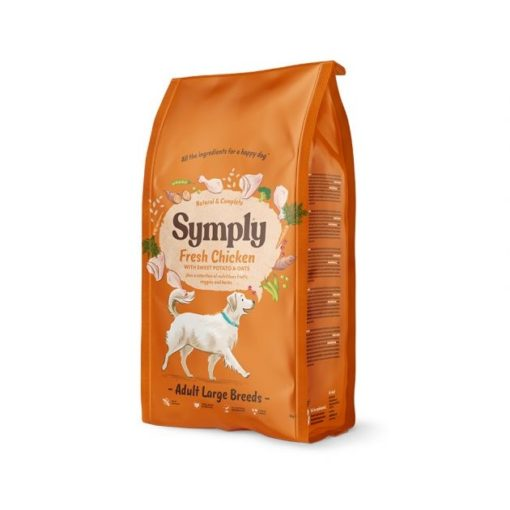 symply 05 - Symply Adult Large Breed Chicken Dry Dog Food