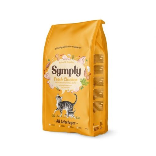 symply cat 02 - Symply Cat Dry Food with Chicken - All Life Stages