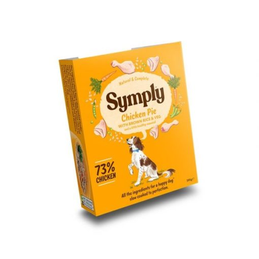 symply wet 02 - Symply Adult Chicken,Brown Rice & Veg Wet Dog Food