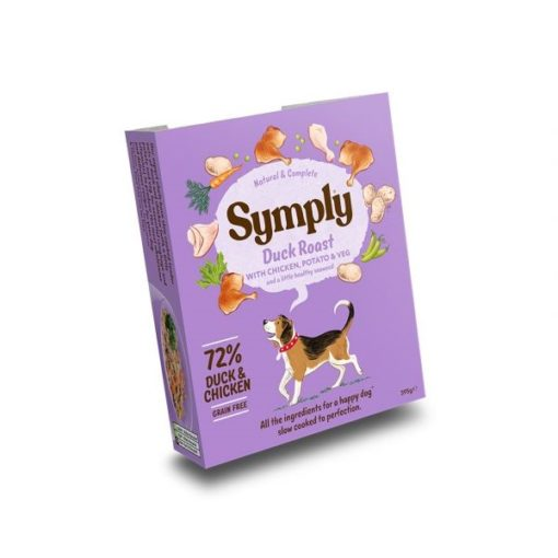 symply wet 04 - Symply Adult Duck with Potato Wet Dog Food