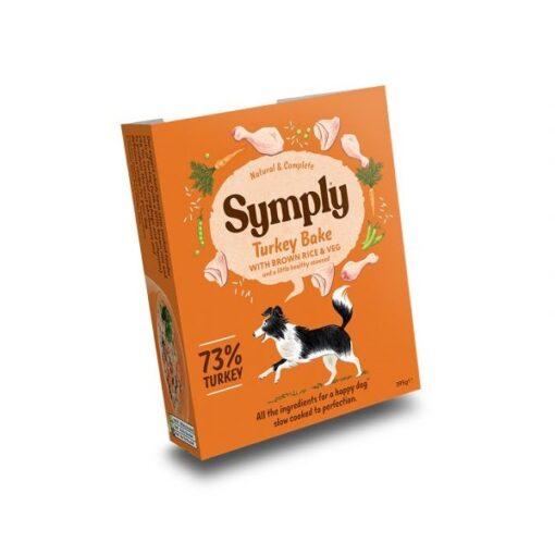 symply wet 10 1 - Symply Adult Turkey, Brown Rice & Veg Wet Dog Food