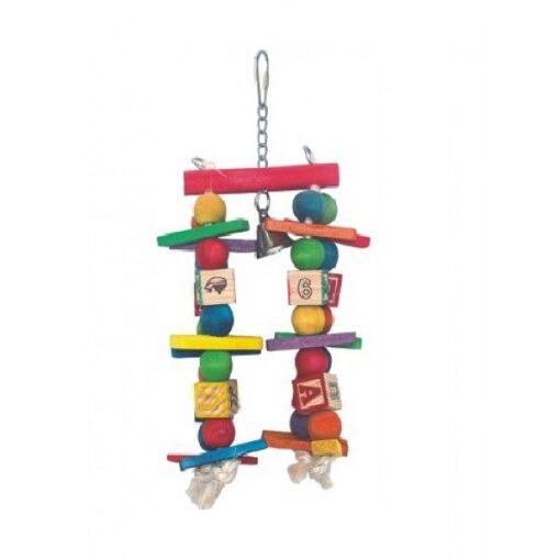 00371 1000x1000 1 - Nutra Pet Hanging Bird Toy L25*H9Cms