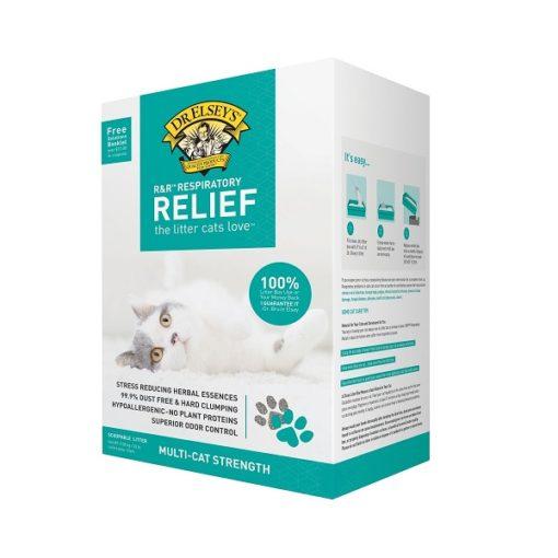 00820 4 1000x1000 1 - Dr Elsey's Precious Cat Herbal Essence Hypoallergenic Respiratory Relief Clumping Clay Litter