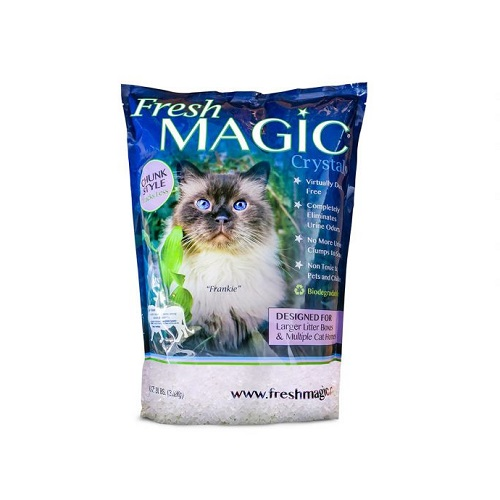 201102 - Fresh Magic Crystal Cat Litter 4 LB