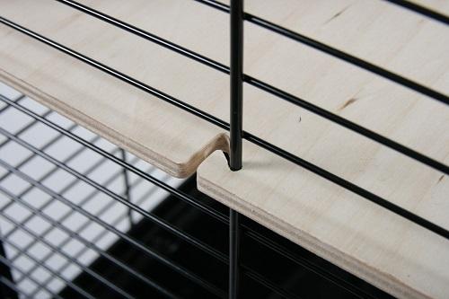 205621gri 2 - Zolux Neo Muki Large Rodent Cage - Grey
