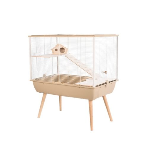 205622bei 1 - Zolux Neo Silta Small Rodent Cage - Beige