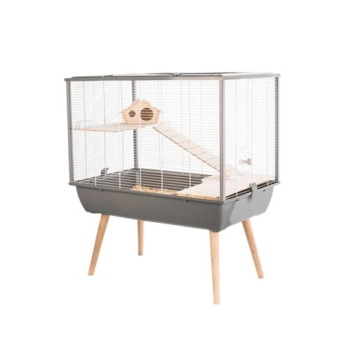 205622gri 1 - Zolux Neo Silta Small Rodent Cage - Grey