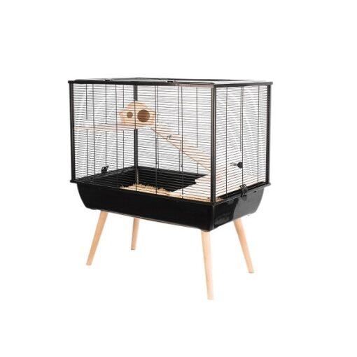 205622noi 2 - Zolux Neo Silta Small Rodent Cage - Black