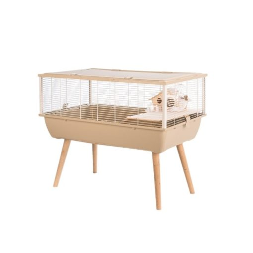 205623bei 1 1 - Zolux Neo Nigha Small Rodent Cage - Beige