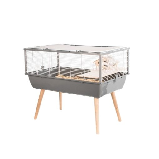 205623gri 1 - Zolux Neo Nigha Small Rodent Cage - Grey