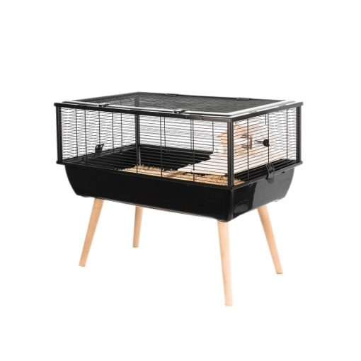 205623noi 1 - Zolux Neo Nigha Small Rodent Cage - Black
