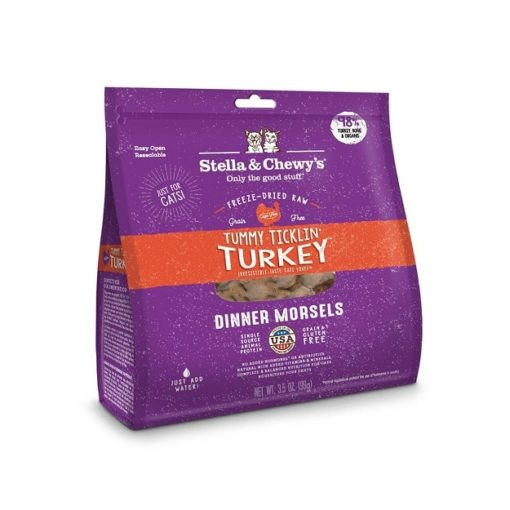 3.5 oz Cat Turkey 1024x1024 1 - Stella & Chewy's Cat Tummy Ticklin Turkey