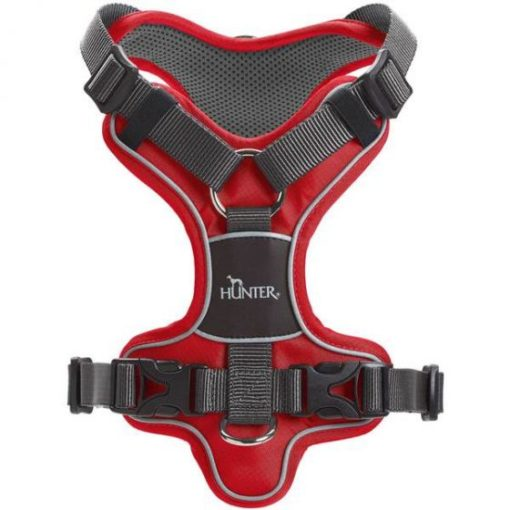 300543 red 1 1 - Hunter Divo Dog Harness Red
