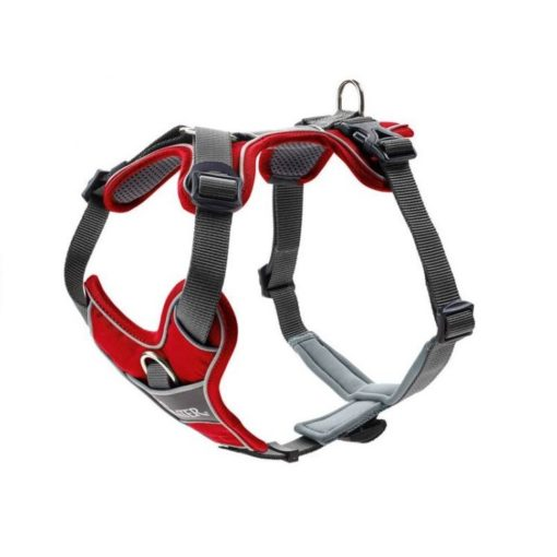 300543 red 1 - Hunter Divo Dog Harness Red