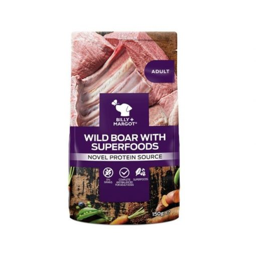 300879 - Billy & Margot Adult Boar with Superfoods Pouch