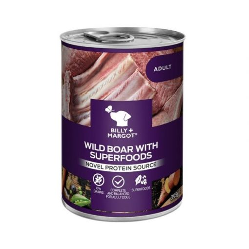 300882 - Billy & Margot Adult Boar with Superfoods Can