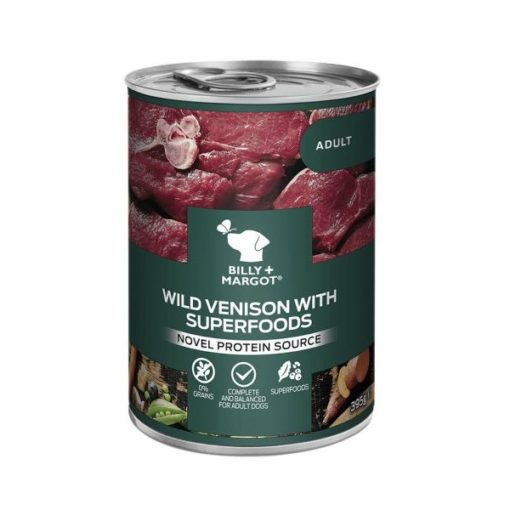 300896 - Billy & Margot Wild Venison with Superfoods Can