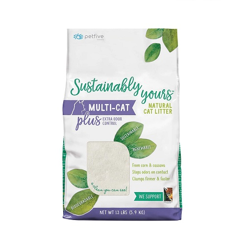 6319 1 - Sustainably Yours Natural Cat Litter Plus
