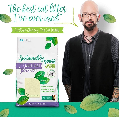 6319 3 - Sustainably Yours Natural Cat Litter Plus