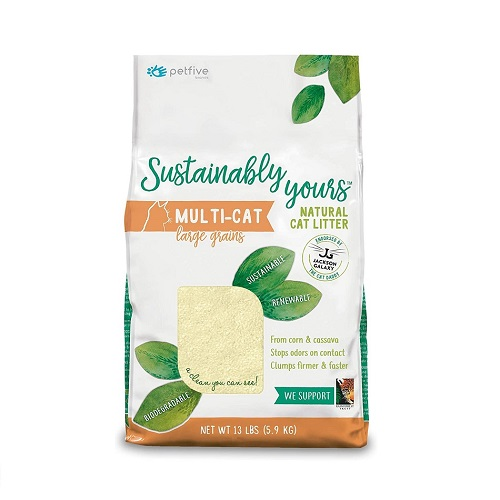 6371 1 - Sustainably Yours Natural Cat Litter Large Grains