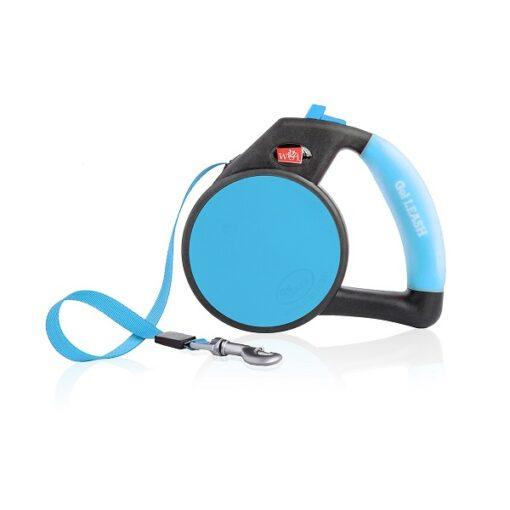 748252856258 image1 2 - Wigzi Retractable Tape Gel Handle Leash Blue