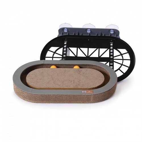 9075b 1000x1000 1 - K&H Universal Mount Kitty Sill With Cardboard Track
