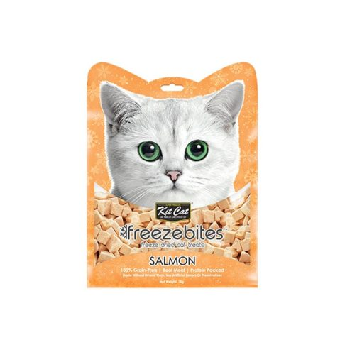 KitCat Freezebites Salmon 1 - Kit Cat Freezebites Salmon 15g