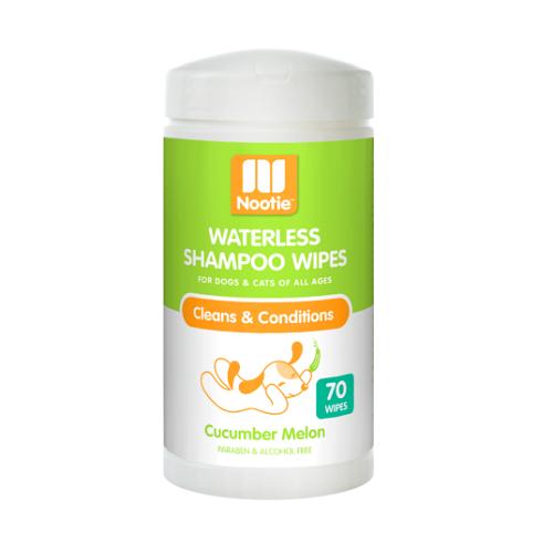 Waterless Shampoo Wipes Cucumber Melon 3D 1 347x537 1000x1000 1 - Nootie Waterless Shampoo Wipes Cucumber Melon 70 Count