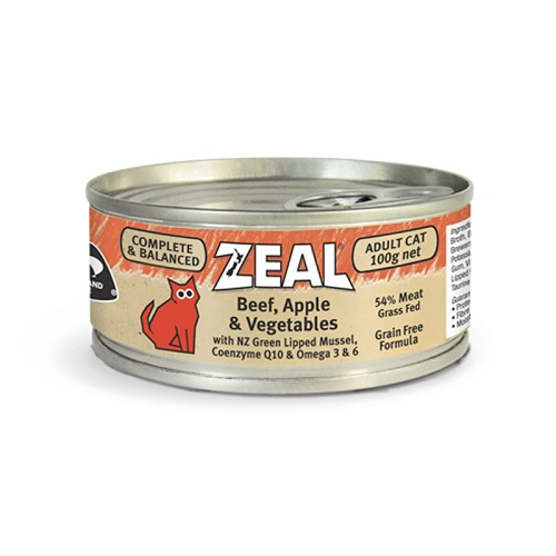 Zeal Beef Apple Vegetables 1 - Zeal Beef, Apple & Vegetables (100g)