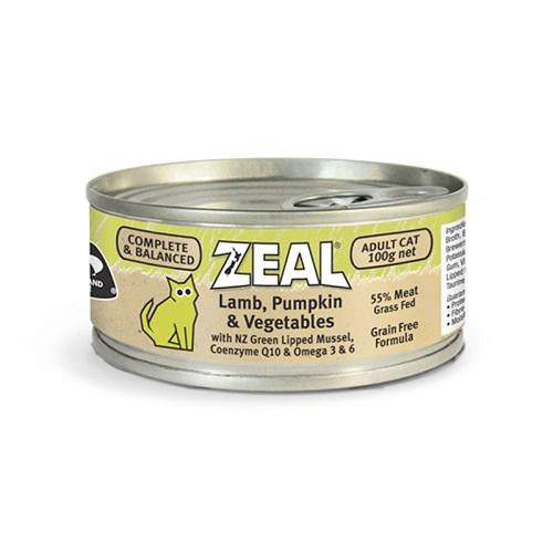 Zeal Lamb pumpkin Vegetables - Zeal – Lamb, Pumpkin & Vegetables (100g)