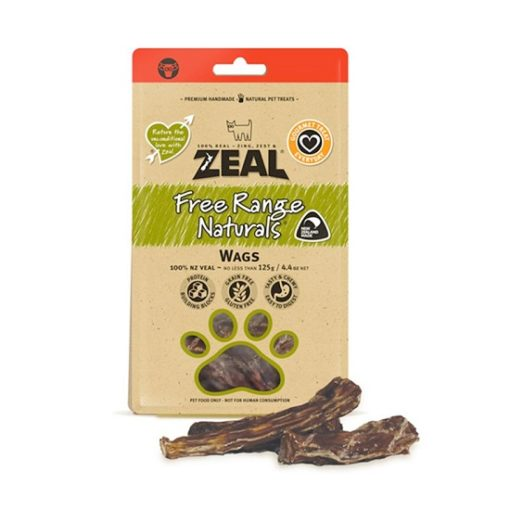 Zeal Wags 1 - Zeal Wags 125g