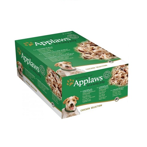 - Applaws Dog Chicken Jelly Multipack 8 x 156g Tin
