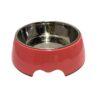 pco 113008pe nutrapet melamine round bowl large peach 1610362556 1 - Nutrapet Melamine Round Bowl Peach