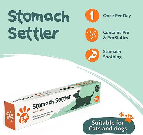 petexx stomachsetter 3 - PetExx Stomach Settler
