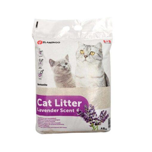 560117 1 - Flamingo Cat Litter Lavender Scent