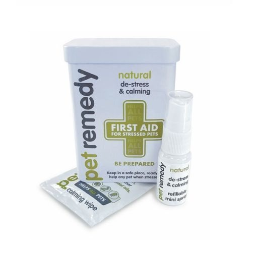 80127 - Pet Remedy First Aid Tin For Stressed Pets