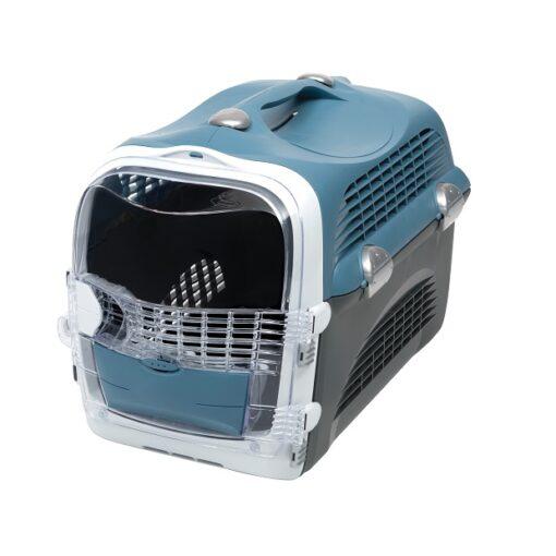 E009829 Calibra Dog Expert Nutrition City 7kg 1 - Cabrio Cat Carrier System - Blue Grey