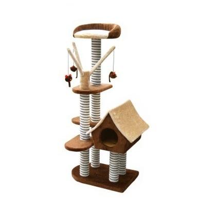 FICP 097 2302 - Sagrada Cat Scratching Pole - Brown