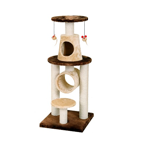 FICP 110 0215 - Bonalti Cat Play Tower - Brown-beige
