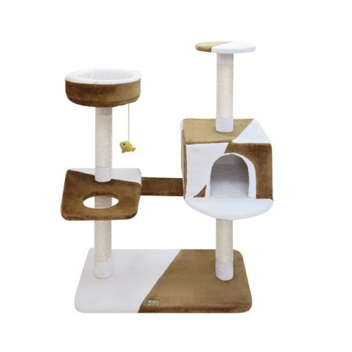 FICP 163 - Camila Cat Pole Brown-white