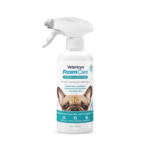 FoamCare Pet Shampoo 1 - Vetericyn FoamCare Pet Shampoo All Coats